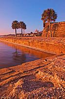 Sunrise<br /> Castillo de San Marcos National Monuement<br /> St. Augustine, Florida