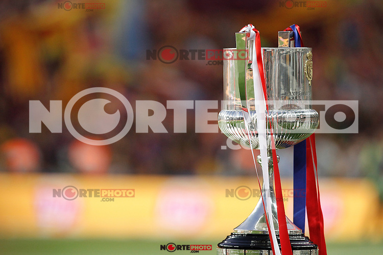 Spanish King´s Cup during 2014-15 Copa del Rey final match between Barcelona and Athletic de Bilbao at Camp Nou stadium in Barcelona, Spain. May 30, 2015. (ALTERPHOTOS/Victor Blanco)