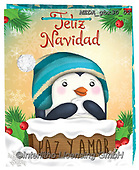 Dreams, CHRISTMAS ANIMALS, WEIHNACHTEN TIERE, NAVIDAD ANIMALES, paintings+++++,MEDAGBX30/02,#XA#