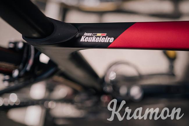 Jens Keukeleire's (BEL/Lotto-Soudal) bike<br /> <br /> Stage 5: Lorient > Quimper (203km)<br /> <br /> 105th Tour de France 2018<br /> ©kramon