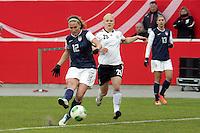 Lauren Cheney (USA) gegen Leonie Maier (D)