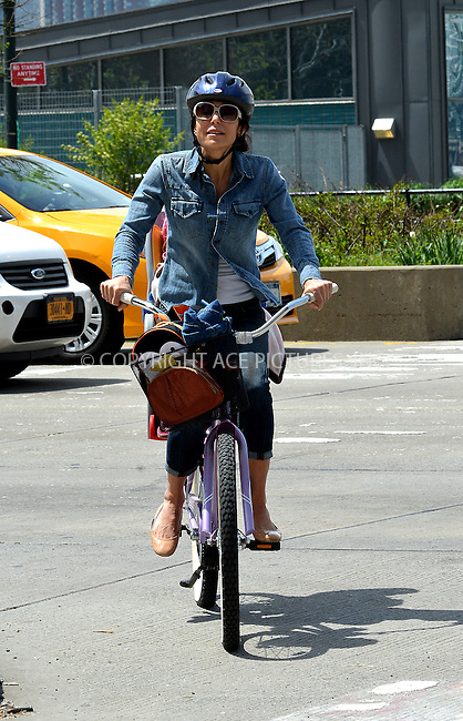 WWW.ACEPIXS.COM<br /> <br /> May 7 2014, New York City<br /> <br /> Bethenny Frankel takes her daughter Bryn Hoppy out for a bike ride on May 7 2014 in New York City<br /> <br /> By Line: Curtis Means/ACE Pictures<br /> <br /> <br /> ACE Pictures, Inc.<br /> tel: 646 769 0430<br /> Email: info@acepixs.com<br /> www.acepixs.com