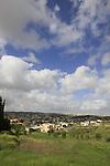 Israel, Mount Carmel. Druze village Daliyat el Carmal