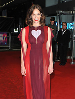 Ruth Wilson at the 61st BFI LFF &quot;Dark River&quot; European premiere, Odeon Leicester Square, Leicester Square, London, England, UK, on Saturday 07 October 2017.<br /> CAP/CAN<br /> &copy;CAN/Capital Pictures