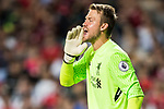 Liverpool FC goalkeeper Simon Mignolet reacts during the Premier League Asia Trophy match between Liverpool FC and Crystal Palace FC at Hong Kong Stadium on 19 July 2017, in Hong Kong, China. Photo by Yu Chun Christopher Wong / Power Sport Images