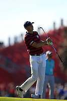 Jordan Spieth (Team USA) on the 10th fairway during Saturday afternoon Fourball at the Ryder Cup, Hazeltine National Golf Club, Chaska, Minnesota, USA.  01/10/2016<br /> Picture: Golffile | Fran Caffrey<br /> <br /> <br /> All photo usage must carry mandatory copyright credit (&copy; Golffile | Fran Caffrey)
