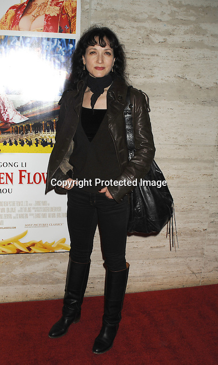 "Bebe Neuwirth arriving at the Premiere of "" Curse of The Golden Flower"" on November 27, 2006 at Alice Tully Hall...Robin Platzer, Twin Images"