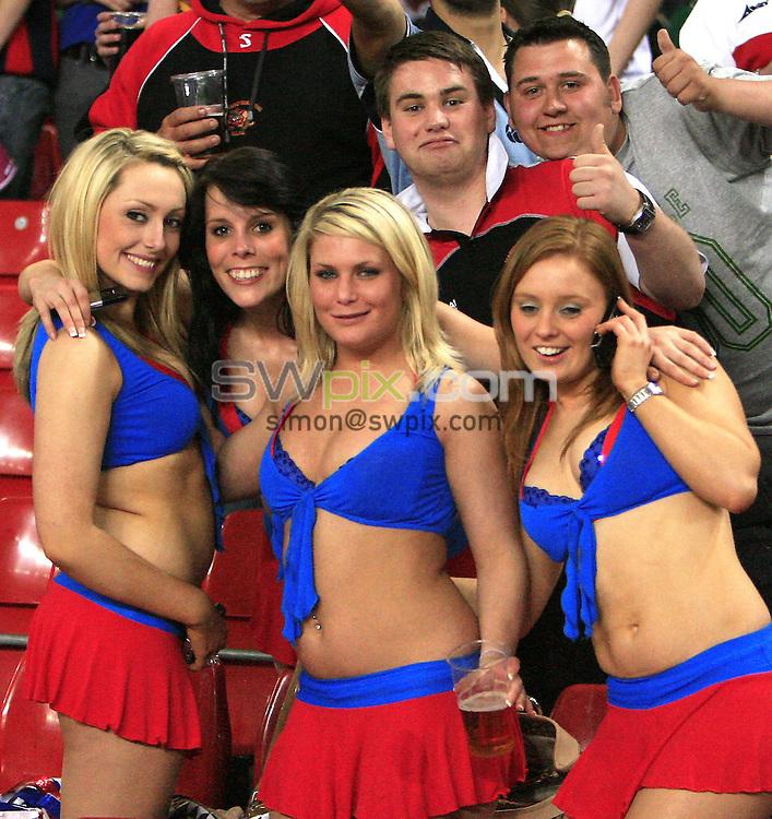 Pix: Chris Mangnall /SWpix.com, Rugby League Super League. Millennium Magic Cardiff. 03/05/08....picture copyright>>simon wilkinson>>07811267 706>>.... fans