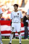 17 October 2004: Joselito Vaca. DC United defeated the MetroStars 3-2 at RFK Stadium in Washington, DC during a regular season Major League Soccer game..