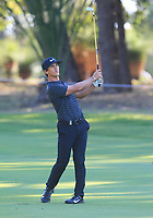 Thorbjorn Olesen (DEN) in action on the 13th during Round 2 of the ISPS Handa World Super 6 Perth at Lake Karrinyup Country Club on the Friday 9th February 2018.<br /> Picture:  Thos Caffrey / www.golffile.ie<br /> <br /> All photo usage must carry mandatory copyright credit (&copy; Golffile   Thos Caffrey)