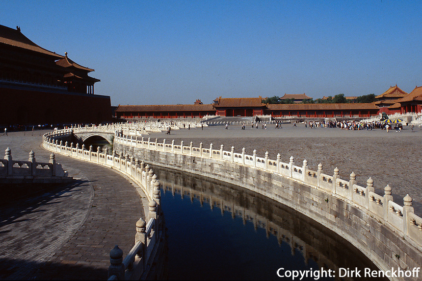 China, Peking, Kaisepalast, Goldwasserfluss, Unesco-Weltkuturerbe