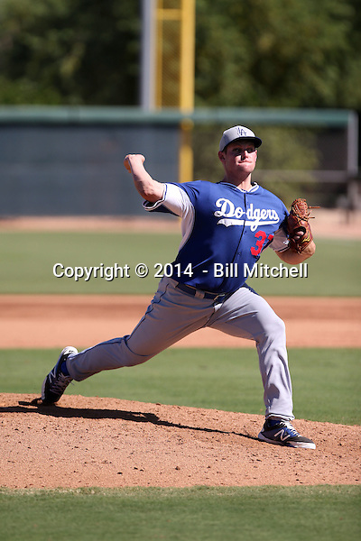 Trevor Oaks - 2014 AIL Dodgers (Bill Mitchell)