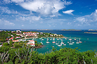 Cruz Bay Harbor. St. John. US Virgin Islands.