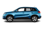 Car driver side profile view of a 2015 Suzuki Vitara Lux Extra 5 Door SUV