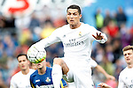 Real Madrid's Cristiano Ronaldo during La Liga match. April 16,2016. (ALTERPHOTOS/Acero)