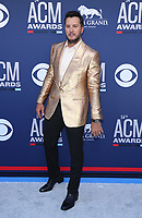07 April 2019 - Las Vegas, NV - Luke Bryan. 2019 ACM Awards at MGM Grand Garden Arena, Arrivals. Photo Credit: mjt/AdMedia