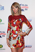 Taylor Swift attending the Capital Radio Jingle Bell Ball 2014, at the O2, London. 07/12/2014 Picture by: Alexandra Glen / Featureflash