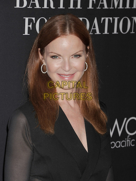 SANTA MONICA, CA- OCTOBER 18: Actress Marcia Cross  attends Elyse Walker presents the 10th anniversary Pink Party hosted by Jennifer Garner and Rachel Zoe at HANGAR 8 on October 18, 2014 in Santa Monica, California.<br /> CAP/ROT/TM<br /> &copy;Tony Michaels/Roth Stock/Capital Pictures