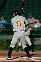 Austin McClune of the Bradenton Marauders during the game at Jackie Robinson Ballpark in Daytona Beach, Florida on August 3, 2010. Photo By Scott Jontes/Four Seam Images