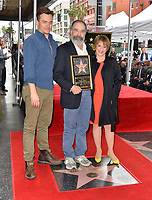 Rupert Friend, Mandy Patinkin & Patti LuPone at the Hollywood Walk of Fame Star Ceremony honoring actor Mandy Patinkin on Hollywood Boulevard, Los Angeles, USA 12 Feb. 2018<br /> Picture: Paul Smith/Featureflash/SilverHub 0208 004 5359 sales@silverhubmedia.com