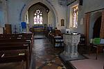 Church of Saint Stephen, Beechingstoke, Vale of Pewsey, Wiltshire, England, UK