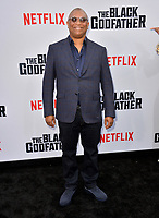 "LOS ANGELES, USA. June 04, 2019: Reginald Hudlin at the premiere for ""The Black Godfather"" at Paramount Theatre.<br /> Picture: Paul Smith/Featureflash"
