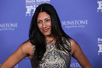 SANTA BARBARA, CA - FEBRUARY 07: Tehmina Sunny at the 29th Santa Barbara International Film Festival - Robert Redford Honored With The American Riviera Award held at the Arlington Theatre on February 7, 2014 in Santa Barbara, California. (Photo by Xavier Collin/Celebrity Monitor)