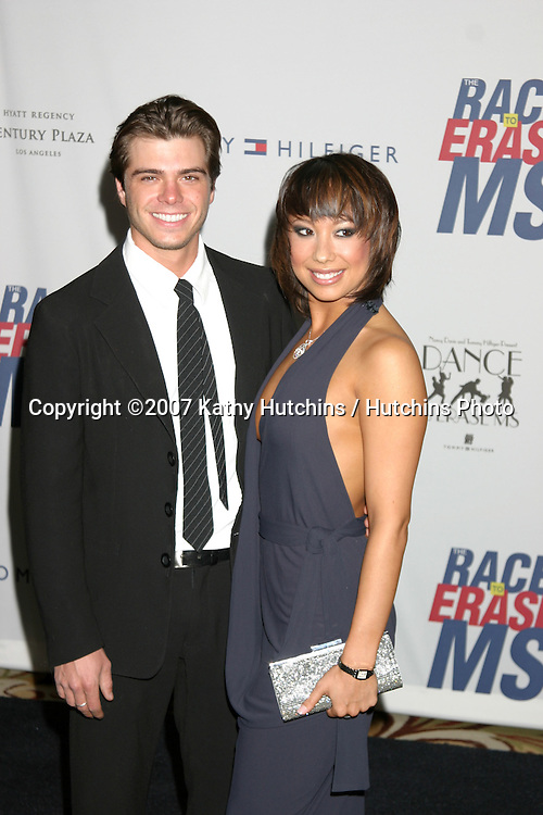 Matthew Lawrence & Cheryl Burke.Dance to Erase MS.Century Plaza Hotel.Century City, CA.April 14, 2007.©2007 Kathy Hutchins / Hutchins Photo....