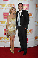 "Beth Behrs, Michael Gladis<br /> at the ""TrevorLIVE LA,"" Hollywood Palladium, Hollywood, CA 2-07-14<br /> Dave Edwards/DailyCeleb.com 818-249-4998"
