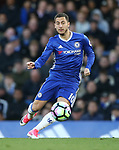 Chelsea's Eden Hazard in action during the Premier League match at Stamford Bridge Stadium, London. Picture date: April 25th, 2017. Pic credit should read: David Klein/Sportimage