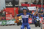 Enric Mas Nicolau (ESP) Quick-Step Floors wins Stage 20 of the La Vuelta 2018, running 97.3km from Andorra Escaldes-Engordany to Coll de la Gallina, Spain. 15th September 2018.                   <br /> Picture: Colin Flockton | Cyclefile<br /> <br /> <br /> All photos usage must carry mandatory copyright credit (&copy; Cyclefile | Colin Flockton)