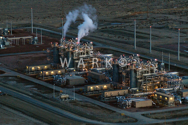 Natural Gas fired electric generation plant. Pueblo, Colorado. 2011
