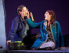 The Siege of Calais <br /> English Touring Opera at Hackney Empire, London, Great Britain <br /> rehearsal <br /> 2nd March 2015 <br /> <br /> music by Dinizetti <br /> words by Salvatore Cammarano <br /> directed by James Conway <br /> <br /> <br /> <br /> <br /> <br /> Catherine Carby as Aurelo<br /> Paula Sides as Eleonora<br /> <br /> Photograph by Elliott Franks <br /> Image licensed to Elliott Franks Photography Services