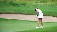 Ellie Slama plays in the opening round of the Oregon State Beavers East & West Match Play Challenge women's golf tournament on Sunday, 9/17/17 at University Ridge Golf Course in Madison, Wisconsin