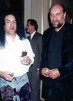 1994 <br /> Paul Stanley Mick Fleetwood<br /> Photo By John Barrett-PHOTOlink.net/MediaPunch