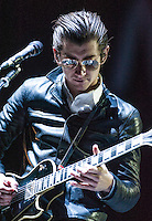The Arctic Monkeys perform at the 2014 Voodoo Music Experience in New Orleans, LA.