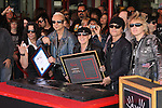 PAWEL MACIWODA, RUDOLF SCHENKER, KLAUS MEINE, MATTHIAS JABS, JAMES KOTTAK. The Scorpions are inducted into Hollywood's RockWalk, dedicated to honoring artists who have made a significant impact on Rock 'n' Roll, Blues and R&B. Hollywood, CA, USA. April 6, 2010. .