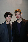 Eddie Alderson & Nic Robuck - Actors, crew, production, family come to One Life To Live's wrap party and video tribute on November 18, 2011 at Capitale, New York City, New York.  (Photo by Sue Coflin/Max Photos)