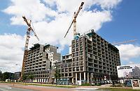 Nederland  Amsterdam - juni 2019.  Nieuwbouw in Zuid-Oost. Our Domain bij het AMC ziekenhuis.   Foto Berlinda van Dam / Hollandse Hoogte
