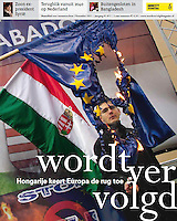 Dutch monthly magazine Wordt Vervolgd, published by Amnesty International NL, on Hungary turning her back on Europe, 11.2012.<br />