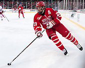 Jakob Forsbacka Karlsson (BU - 23) - The Boston University Terriers defeated the University of Massachusetts Minutemen 5-3 on Sunday, January 8, 2017, at Fenway Park in Boston, Massachusetts.The Boston University Terriers defeated the University of Massachusetts Minutemen 5-3 on Sunday, January 8, 2017, at Fenway Park.