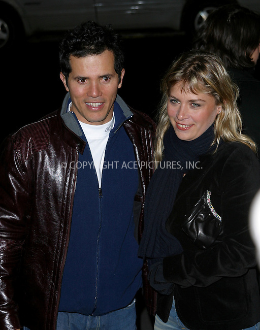 "John Leguizamo arrives at the special screening of ""Chicago."" New York, December 18, 2002. Please byline: NY Photo Press. REF: M19 -- THIS REFERENCE CODE MUST APPEAR ON YOUR SALES REPORT, THANK YOU.....*PAY-PER-USE*      ....NY Photo Press:  ..phone (646) 267-6913;   ..e-mail: info@nyphotopress.com"