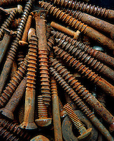 RUSTED SCREWS<br />