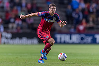 Bridgeview, IL. - Wednesday, August 26, 2015:   The Chicago Fire defeated the New York Red Bulls by the score of 3-2 at Toyota Park.