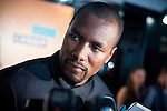 """Basketball player Serge Ibaka attends to the presentations of the documentary """"Son of the Congo""""at Cinema Callao City Lights in Madrid, Spain. June 22, 2015.<br />  (ALTERPHOTOS/BorjaB.Hojas)"""