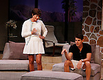 """As The World Turns' Colleen Zenk stars along with the cast Davy Raphaely in """"Other Desert Cities"""" at the tech rehearsal (in costume) on October 14, 2015 at Whippoorwill Halll Theatre, North Castle Library, Kent Place, Armonk, New York.  (Photo by Sue Coflin/Max Photos)"""