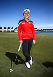 World Number One golfer Lydia Ko.  Clearwater Golf Course, Wednesday 10 January 2016. Photo: Simon Watts / BWmedia for NZ Golf<br /> All images &copy; NZ Golf and BWMedia.co.nz