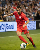 KANSAS CITY, KS - JUNE 26: Daniel Lovitz #16 during a game between Panama and USMNT at Children's Mercy Park on June 26, 2019 in Kansas City, Kansas.