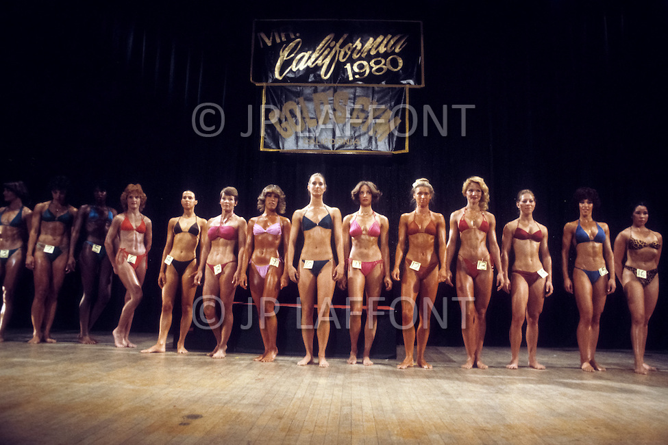 Los Angeles, 1980. California Women's Bodybuilding Championship.