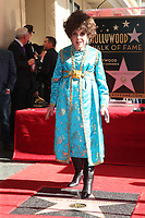 HOLLYWOOD, CA - FEBRUARY 1: Gina Lollobrigida receives a star on the Hollywood Walk Of Fame  on February 1, 2018 in Hollywood, California. <br /> CAP/MPI/FS<br /> &copy;FS/MPI/Capital Pictures